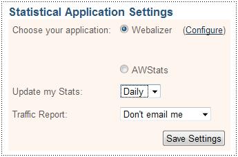 Web Statistic - Webalizer or AWStats